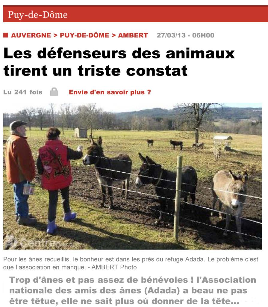 www.lamontagne.fr - Puy-de-Dôme - AMBERT (63600) - Les défense
