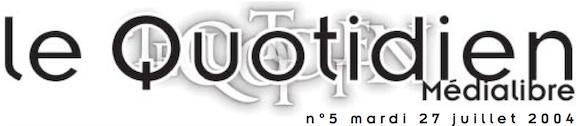 Medialibre_27-07-2004_titre