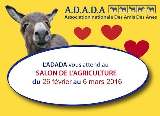 Adada salon de l 39 agriculture du 27 f vrier au 6 mars 2016 for Salon porte de versailles hall 6